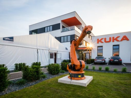 Eröffnung KUKA Application Center
